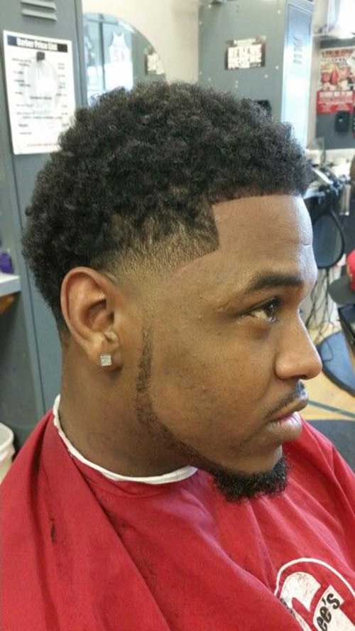 Taper Fade Afro Haircuts