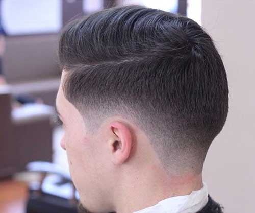 Taper Fade Undercut Mens Hairstyles