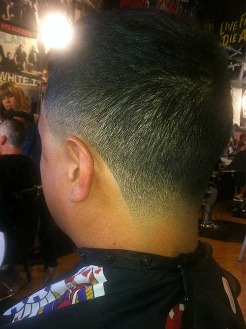Tapered Fade Haircuts for Men