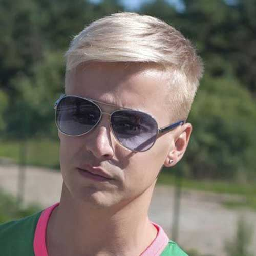 Top Blonde Haircuts for Guys