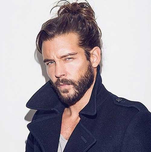 Trendy Bun Hair Styles Men