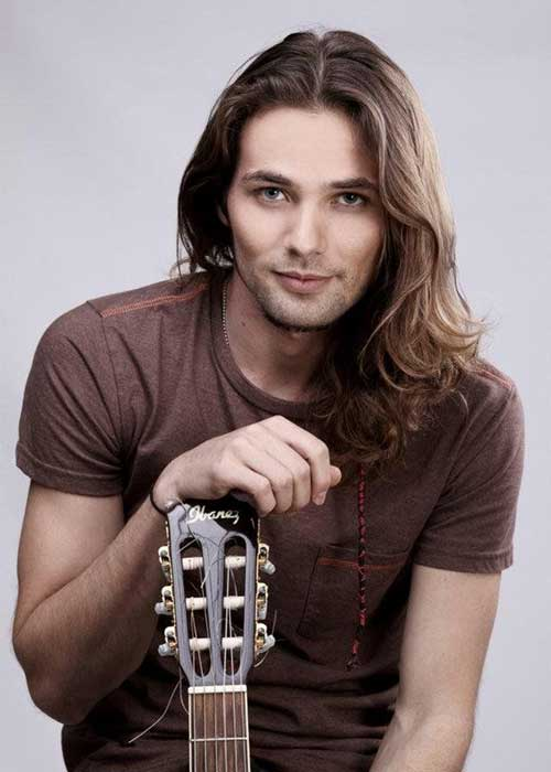 Best Trendy Hair Styles for Guys with Long Hair