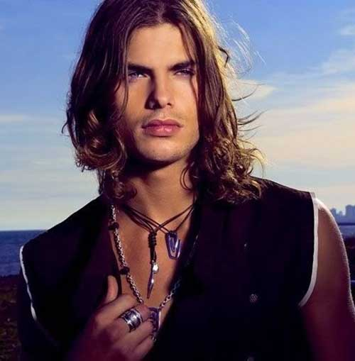 Best Trendy Long Hair Hairstyles Guys