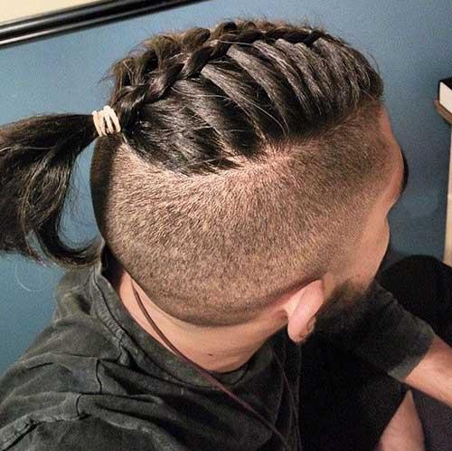 Mens Braided Undercut Hairstyles