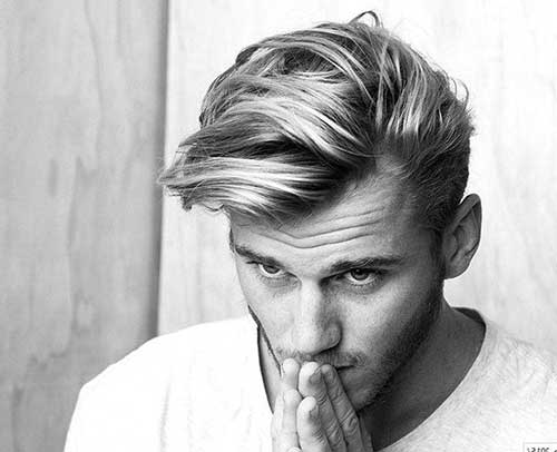 Best Trendy Mens Straight Medium Hair Cut