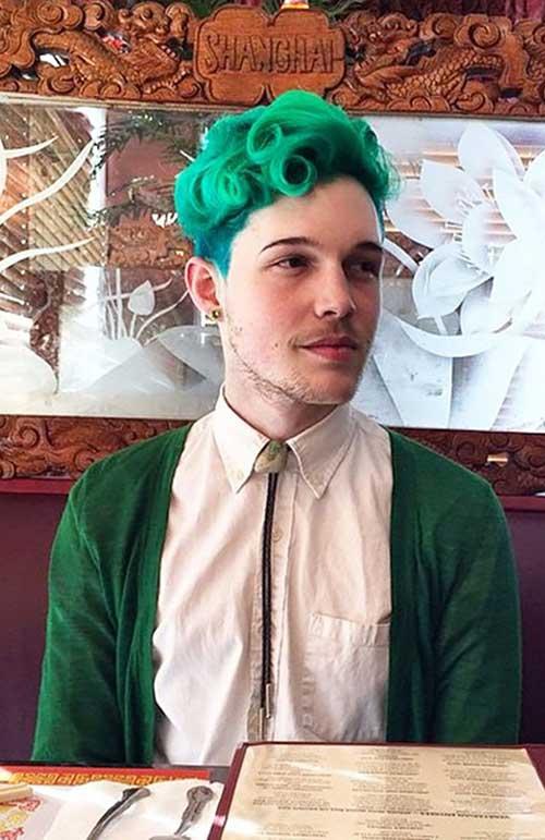 Trendy Merman Hair Color for Men