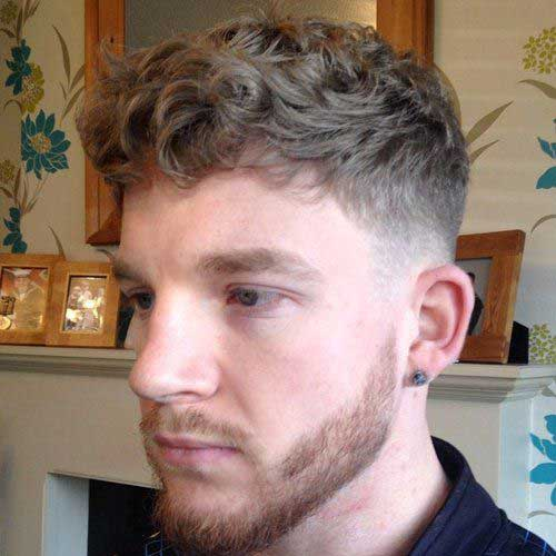 Trendy Short Curly Haircuts for Men
