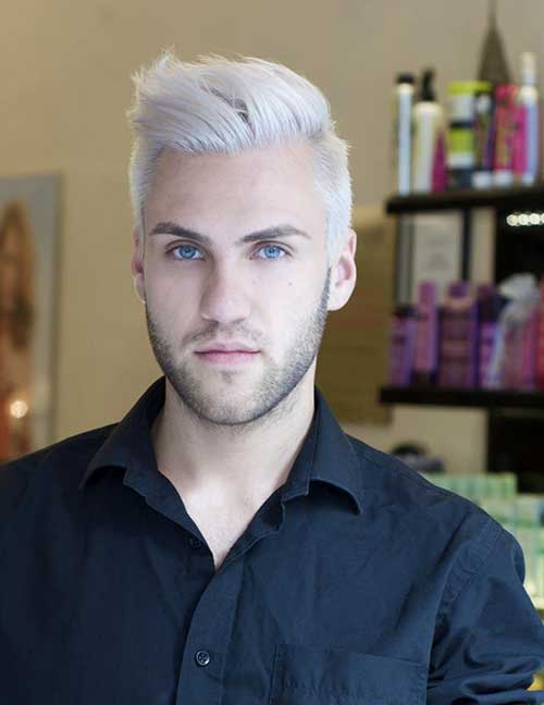 Best Trendy White Hair for Guys