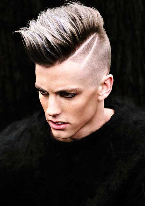 Colored Hairstyles for Men