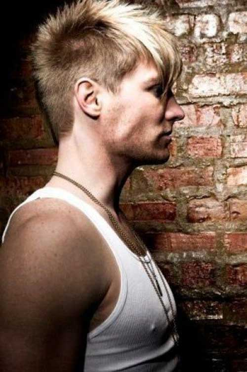 Upscale Mohawk Hairstyles for Men 2016