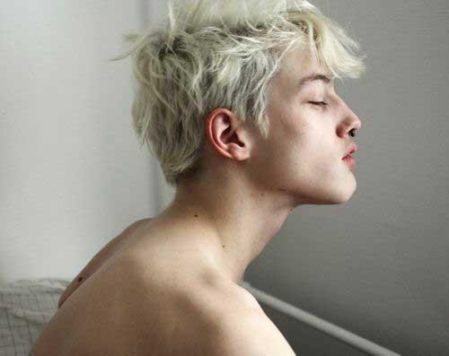 White Hair Boy Pics