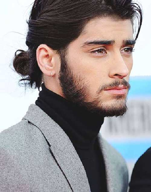Best Zayn Malik Long Hair Bun