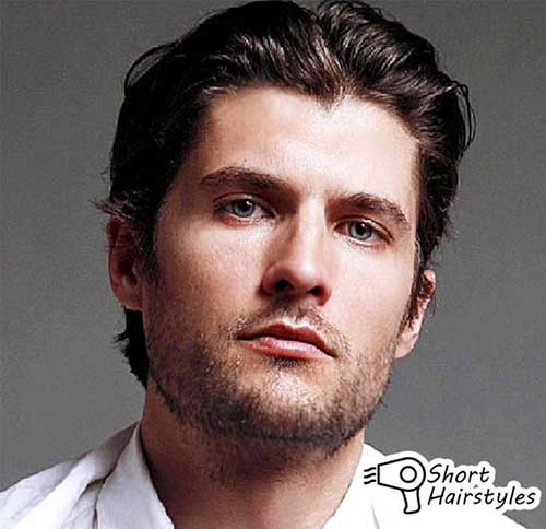 Hairstyles for Round Faces Men-12
