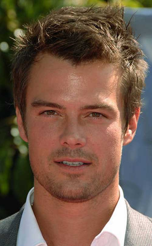 Hairstyles for Round Faces Men-13