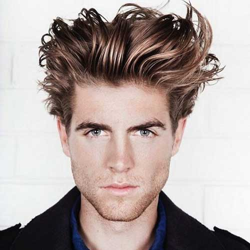 Messy Hairstyles for Men-6