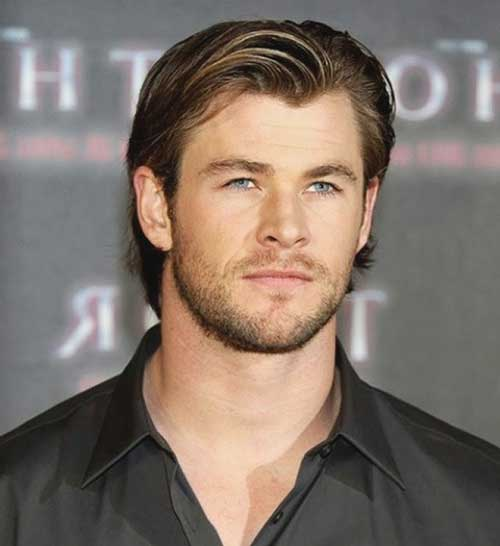 Hairstyles for Round Faces Men-9