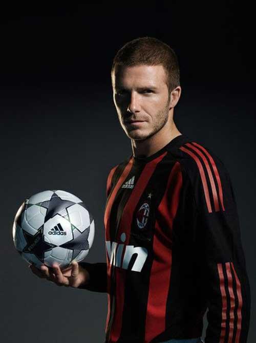 David Beckham Short Hair-10