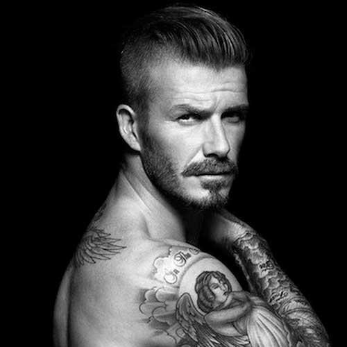 David Beckham Short Hair-11