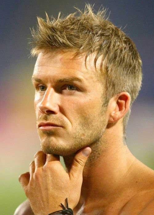 David Beckham Short Hair-12