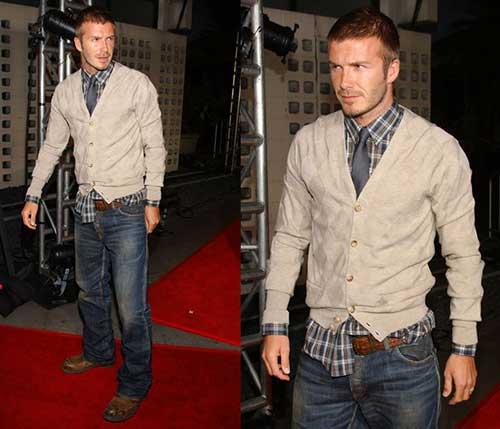 David Beckham Short Hair-13