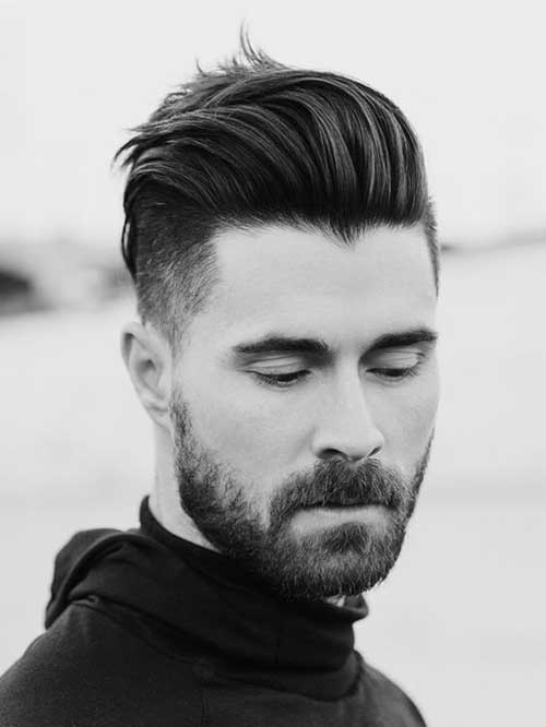 Pompadour Hairstyle Men-14