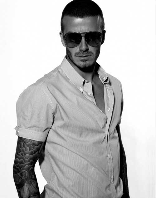 David Beckham Short Hair-16