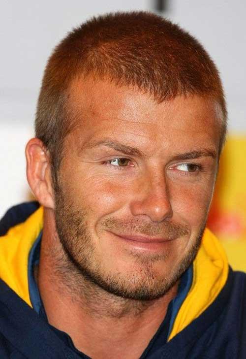 David Beckham Short Hair-21