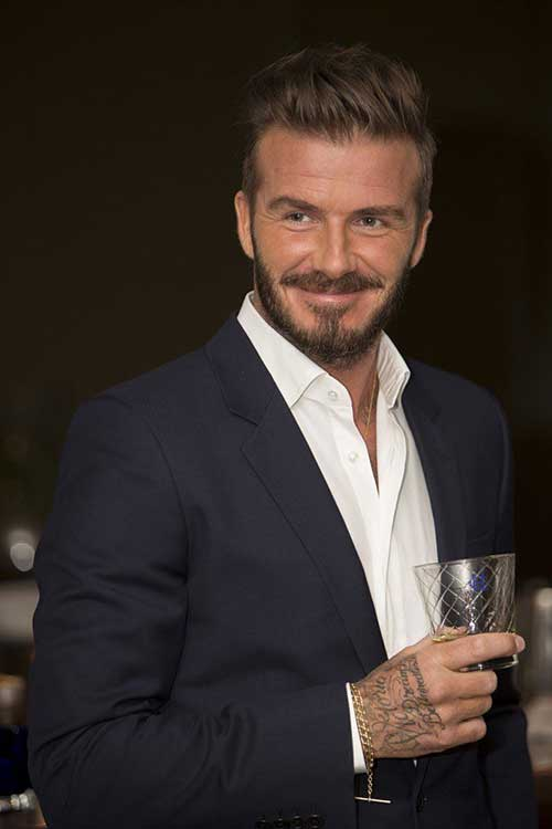 David Beckham Short Hair-22