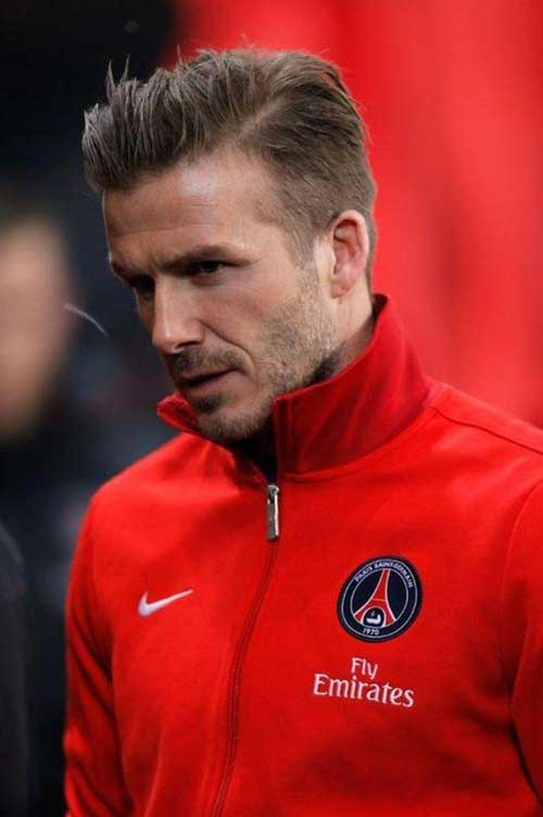 David Beckham Short Hair-6