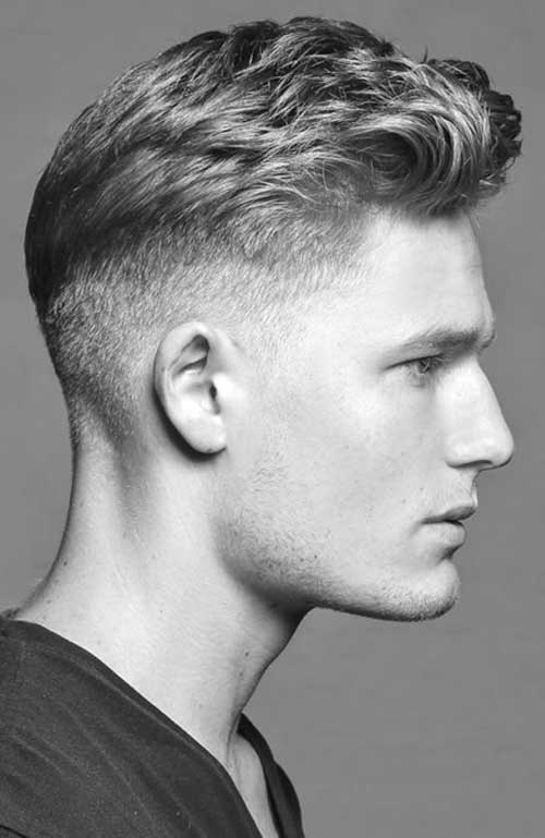 Short Sides Haircuts for Men-7