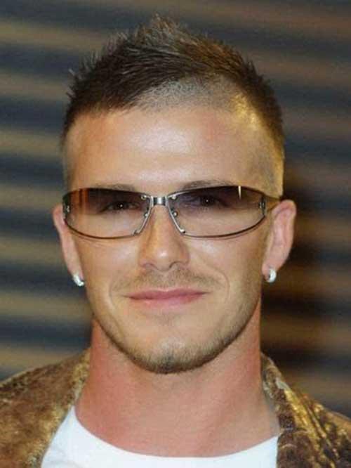 David Beckham Short Hair-8