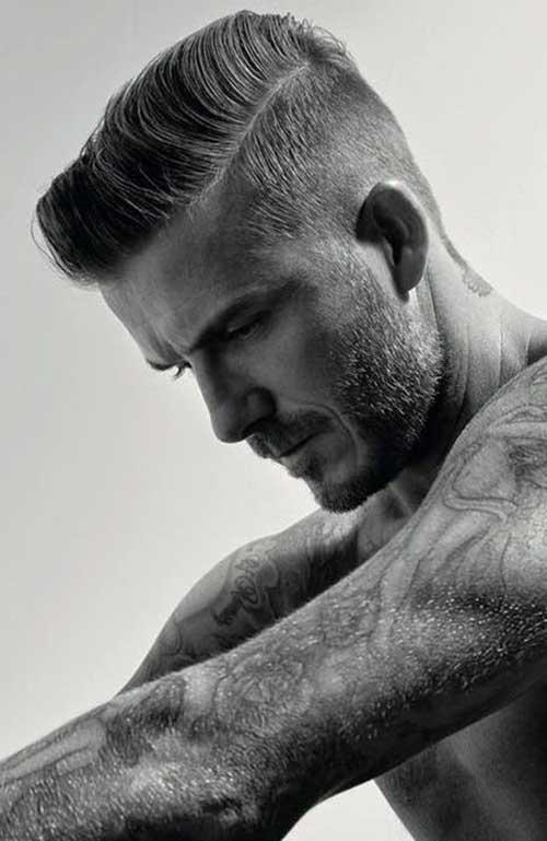 David Beckham Short Hair-9
