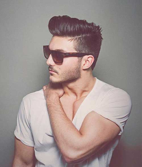 Pompadour Hairstyle Men-9