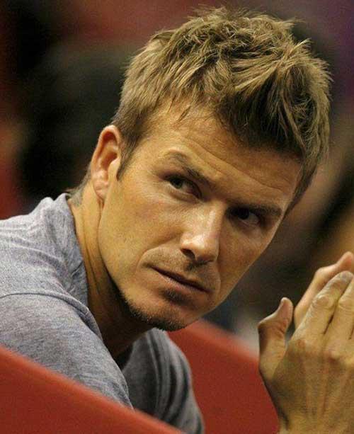 David Beckham Hair Cuts
