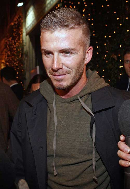 David Beckham Hair Cut