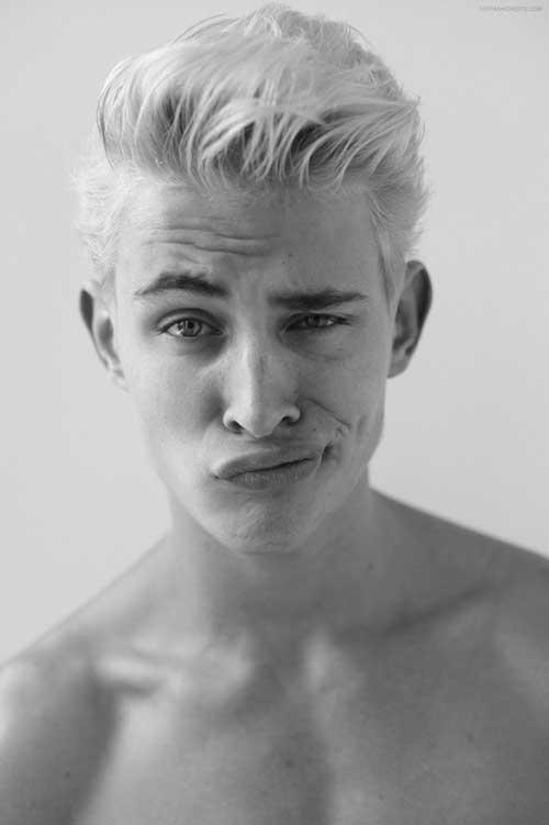 Guy Blonde Hair