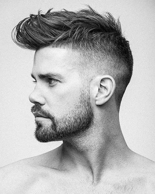 Mens Haircut Pompadour