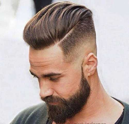 Pompadour Hairstyle Men