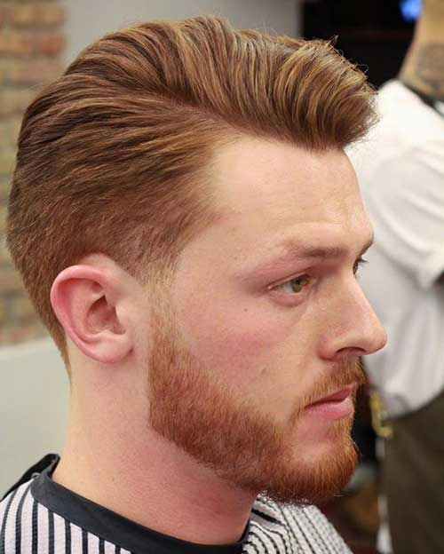Pompadour Mens Hair