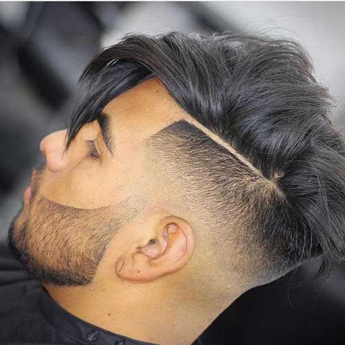 outstanding fade haircuts for cool guys mens hairstyles 2018. Black Bedroom Furniture Sets. Home Design Ideas