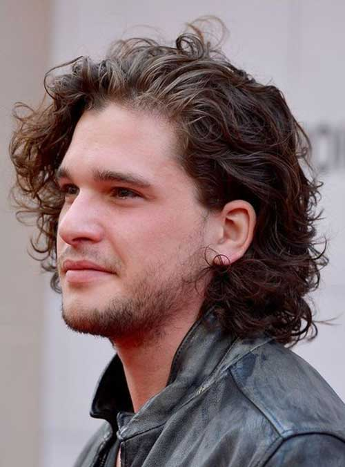 Curly Hairstyles Men-19