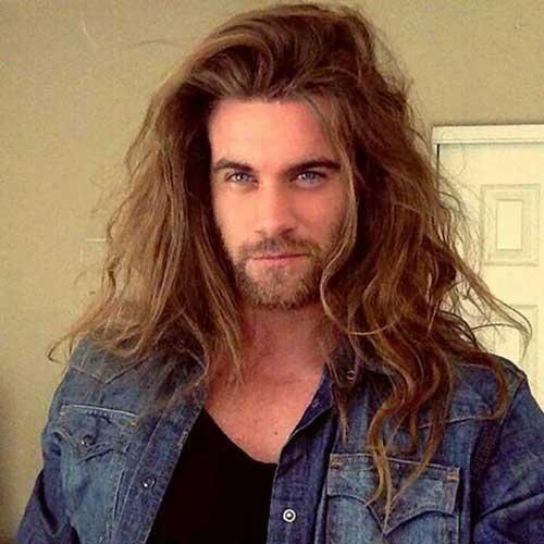Long Hair Men-30