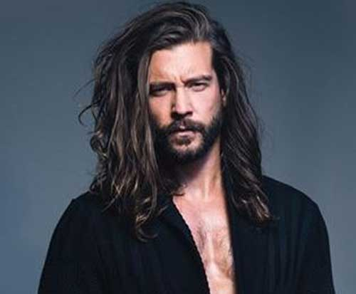 Long Hairstyles for Men-8