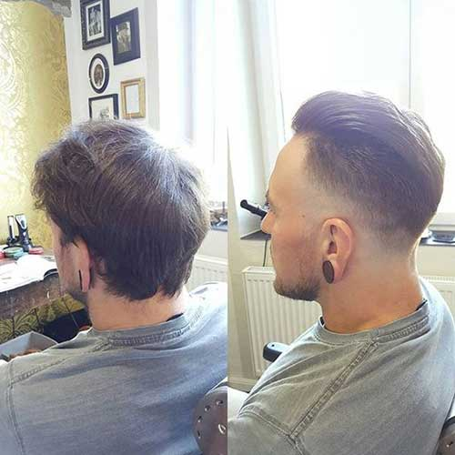 Mens Haircut Fade