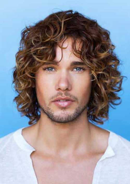 Super 20 Guys With Long Curly Hair Mens Hairstyles 2016 Short Hairstyles For Black Women Fulllsitofus