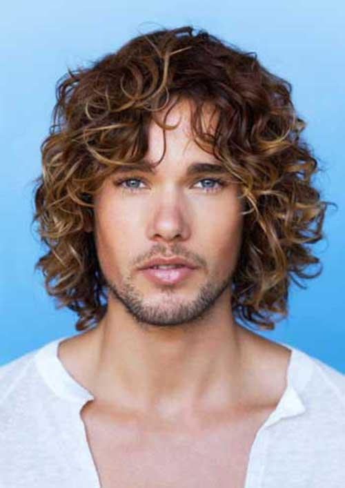 Fantastic 20 Guys With Long Curly Hair Mens Hairstyles 2016 Short Hairstyles Gunalazisus