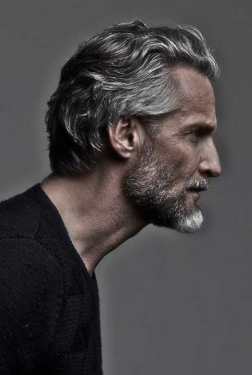 Hair Style for Older Men