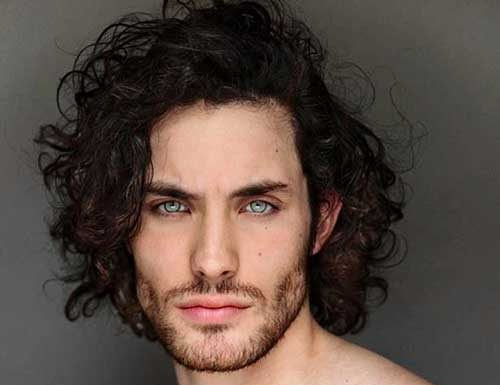 Styling Mens Curly Hair: Mens Curly Hairstyles