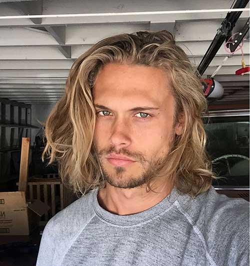 30+ Long Hair Men