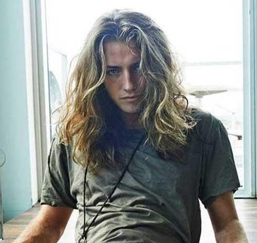 Haare lang mann